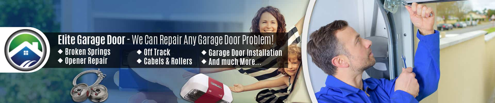 Garage Door Repair Renton WA • Elite Tech Garage Door Services
