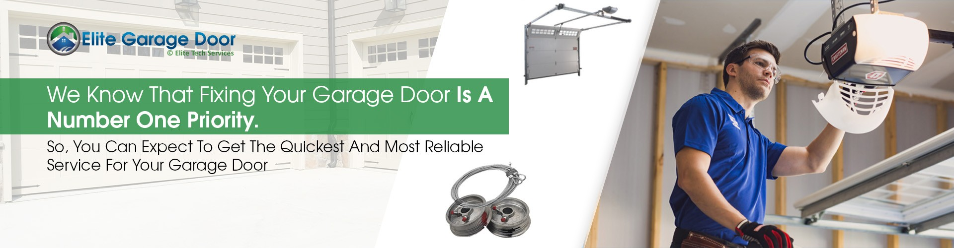Garage Door Repair Kent WA • Elite Tech Garage Door Services