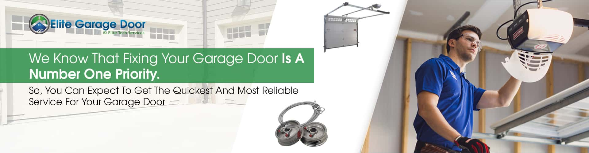Garage Door Repair Sammamish WA • Elite Tech Garage Door Services