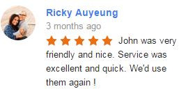 Google My Business Review Ricky Am   Elite Tech Garage Door