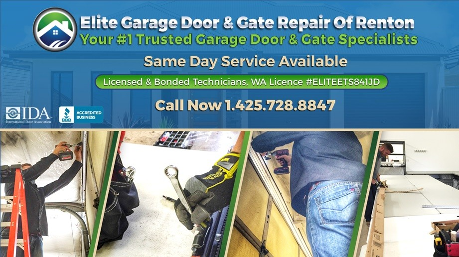 Elite® Garage Door U0026 Gate Repair Of Renton WA U0026 King County