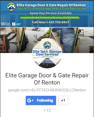 Follow Us On Google Plus. Google+ · Elite Garage Door ...