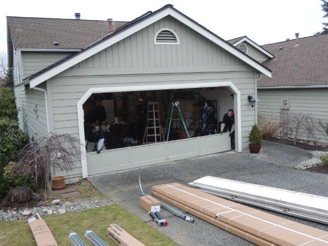 Garage Door Installation In Maple Valley WA By Elite Garage & Gate