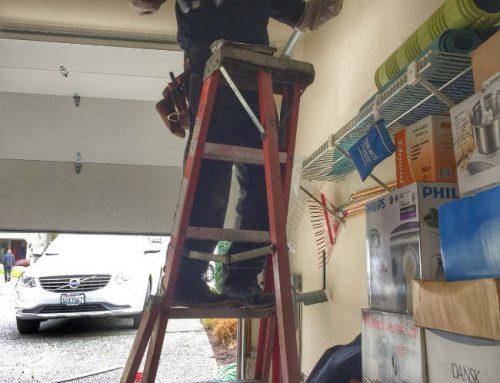 Garage Door Repair Project In Kent Washington
