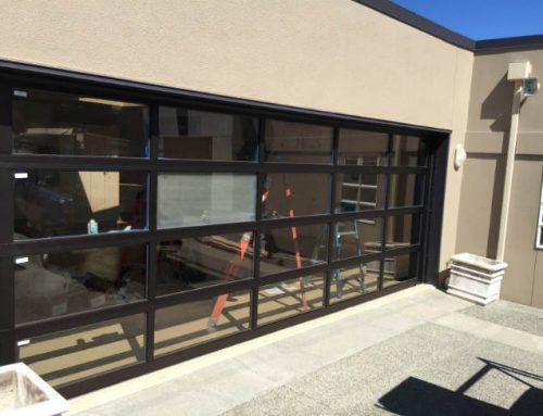 New Custom Garage Door Design In Redmond