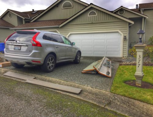 New Garage Door Replacement In North Bend Washington