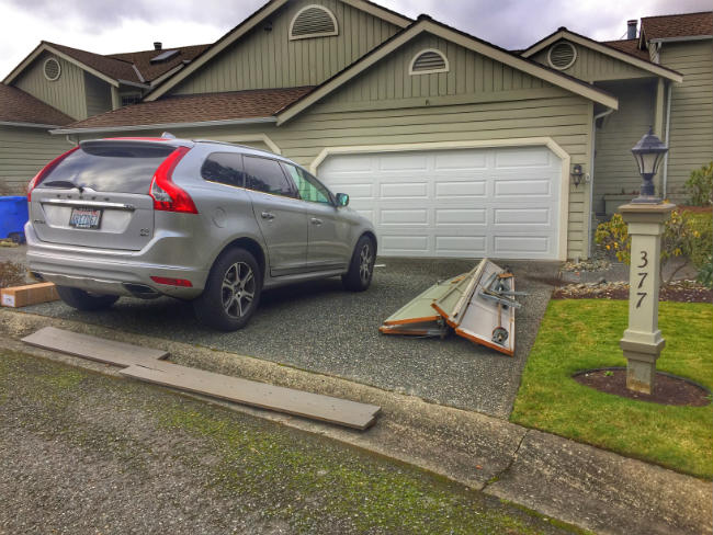 New Garage Door Replacement In North Bend Washington By Elite Garage & Gate
